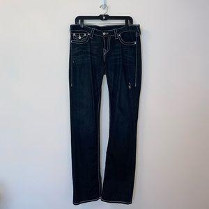 True Religion Hi-Rise Straight Leg Jeans Size 32